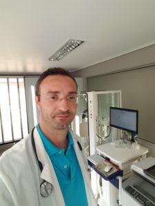 O Γεώργιος Κατσουράκης, Πνευμονολόγος, Φυματιολόγος