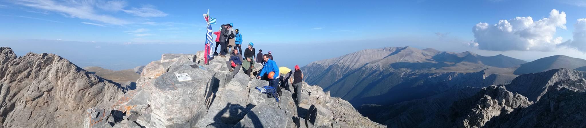 Ανέβηκαν στον Όλυμπο τα μέλη του Ορειβατικού Συλλόγου Αγρινίου