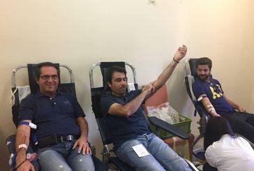 Θέρμο: μεγάλη συμμετοχή στην εθελοντική αιμοδοσία