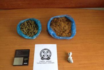 Κι άλλη σύλληψη στο Αγρίνιο για χασίς και λαθραίο καπνό