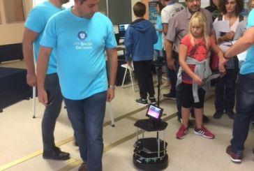 O Ζαχαρίας, το οικιακό ρομπότ, έκλεψε την παράσταση στη Βραδιά Ερευνητή 2016