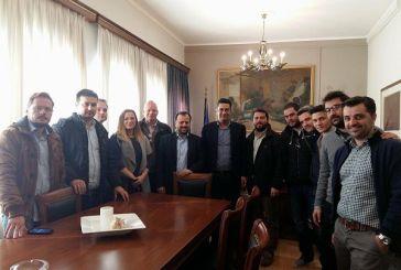 Συνάντηση της «Δημοκρατικής Κίνησης Μηχανικών – Συνεργαζόμενοι» με το Δήμαρχο Αγρίνιου