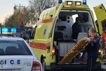 Τρία άτομα στο νοσοκομείο έπειτα από σύγκρουση αυτοκινήτων στον Κουβαρά