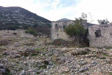 Εικόνες από τα Αχυρά: Το ερειπωμένο χωριό σκαρφαλωμένο στους πρόποδες των Ακαρνανικών