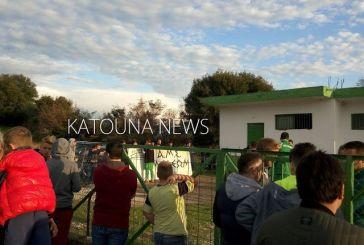 Ένταση σε ποδοσφαιρικό αγώνα στην Κατούνα