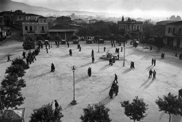 1947, υπέροχη φωτογραφία στο κέντρο του Αγρινίου