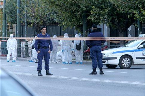 Εικόνα από το σημείο της επίθεσης   (Φωτογραφία:  ΑΠΕ )