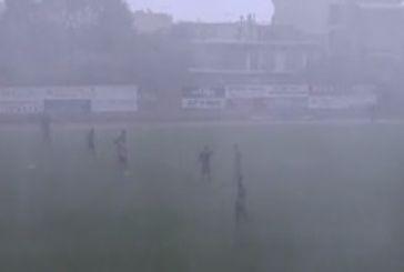 A' EΠΣΑ: Και όμως παίχτηκε μπάλα σε Ναύπακτο και Αντίρριο (video)