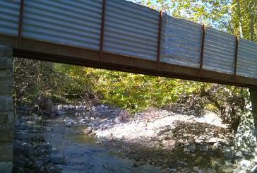 Σε ποιο μέρος της Αιτωλοακαρνανίας  βρίσκεται το μικρό αυτό γεφυράκι;