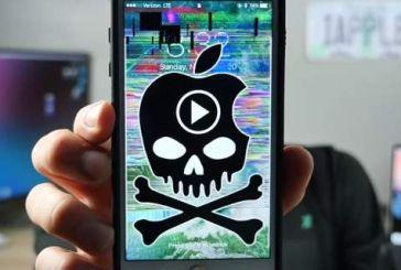 «Πονοκέφαλος» για τους κατόχους iPhone -Ενα βίντεο «κλειδώνει» τις συσκευές