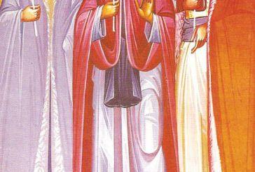 Οι άγιοι  Λάμπρος, Θεόδωρος και Ανώνυμος, που μαρτύρησαν στο Αγρίνιο το 1786