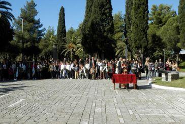 Μεσολόγγι: Προσκύνημα για τα 43 χρόνια από την εξέγερση του Πολυτεχνείου