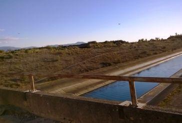 Η μικρή γέφυρα  στον Αχελώο νότια της Στράτου