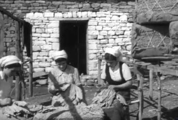 Η επεξεργασία του καπνού στον κάμπο του Αγρινίου το 1954