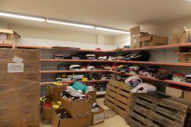 Διανομή βασικών υλικών αγαθών σε δικαιούχους ΤΕΒΑ στο Αγρίνιο