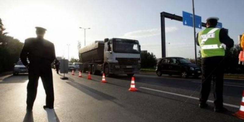 Ιόνια Οδός: συνεχίζονται οι έλεγχοι σε ταχογράφους φορτηγών, 17 νέες παραβάσεις