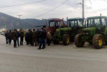 Συγκέντρωση αγροτών στην Γραμματικού με ομιλία Μπούτα