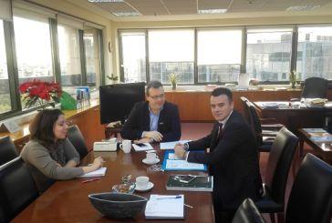 Συνάντηση Μπαλαμπάνη με Φάμελλο για περιβαλλοντικά και πολεοδομικά θέματα της Περιφέρειας