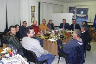 Ποια θέματα τέθηκαν στη συνάντηση Καραπάνου με τη διοίκηση του Εμπορικού Σύλλογου Μεσολογγίου