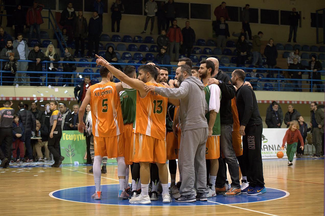 Mεγάλη νίκη του ΑΟ Αγρινίου με 71-52 κόντρα στο Ανατόλια (Φωτό)