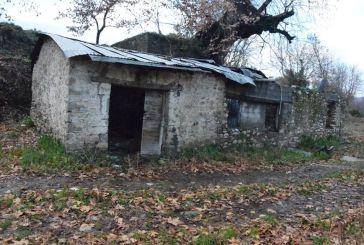 Ο παλιός νερόμυλος του Χονδρού στον οικισμό Τροχός Αγρινίου