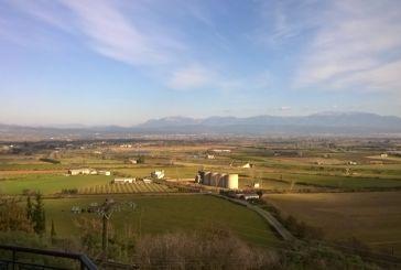 Η θέα του Αγρινίου από την Γουριώτισσα