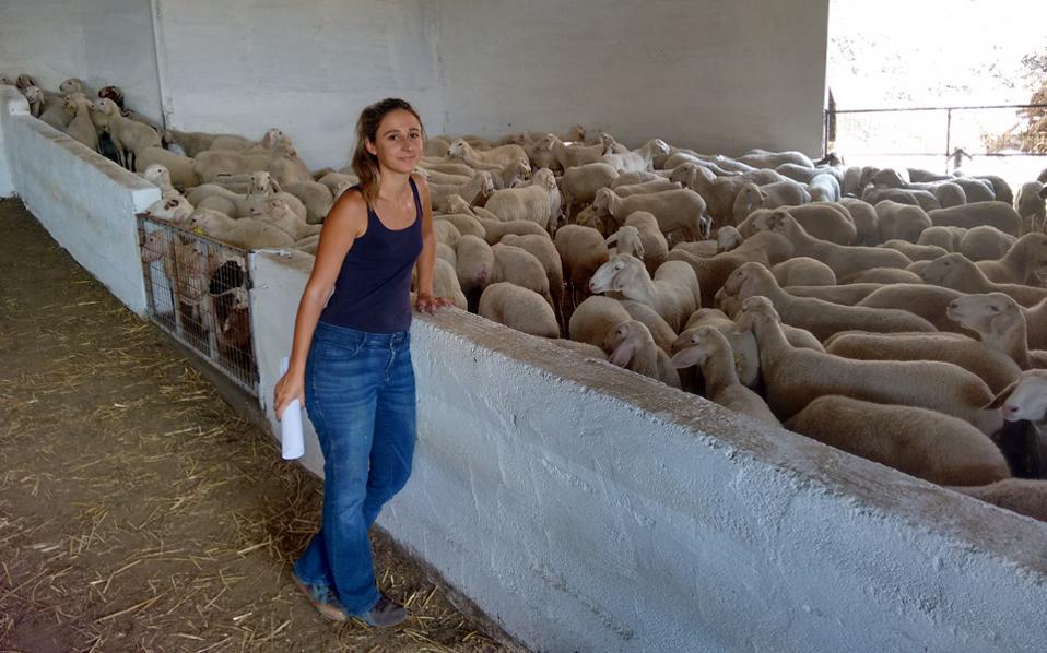 Η 31χρονη που άφησε το Λονδίνο για να γίνει κτηνοτρόφος στο Αιτωλικό