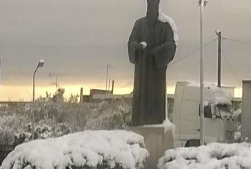 """Πως το χιόνι στην Τριχωνίδα  """"σμίλεψε"""" έργα τέχνης"""