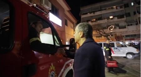 "To ""ρεπορτάζ"" του Θεοδωράκη στην Πυροσβεστική Αγρινίου (βίντεο)"