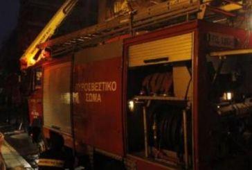 Πυρκαγιά ξέσπασε σε αποθήκη στον Γαλατά Ναυπακτίας