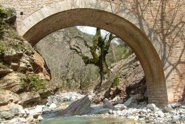 Το πέτρινο γεφύρι στη Διποταμιά Γιδομανδρίτη (19ος αι.) στο ορεινό Θέρμο