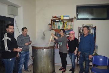 Έτοιμη και η φασολάδα για τα Κούλουμα στα Αμπάρια Παναιτωλίου