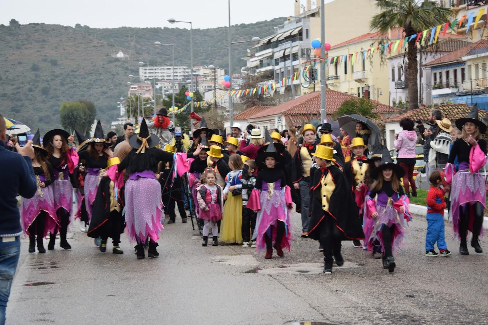 Εικόνες από το καρναβάλι της Αμφιλοχίας