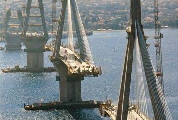 Εικόνες από την κατασκευή της γέφυρας Ριου-Αντιρρίου
