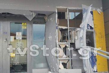Ανατίναξαν ATM στα Καμένα Βούρλα -Καταστράφηκαν χαρτονομίσματα 45.000 ευρώ