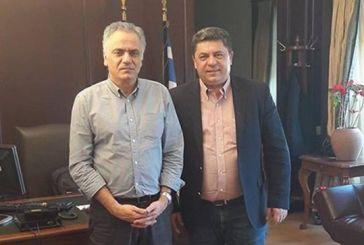 Συνάντηση του Δημάρχου Αγράφων με τον Παναγιώτη Σκουρλέτη για κρίσιμα θέματα του δήμου