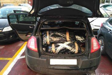 Συνελήφθησαν με 110 κιλά χασίς στο Κομπότι Άρτας