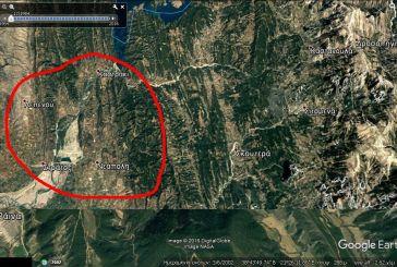 """To google earth αποκαλύπτει την """"άδεια"""" λίμνη Στράτου το 1984"""