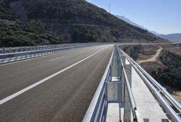 Ιόνια Οδός: Κυκλοφοριακές Ρυθμίσεις  στο τμήμα Αβγό – Εγνατία
