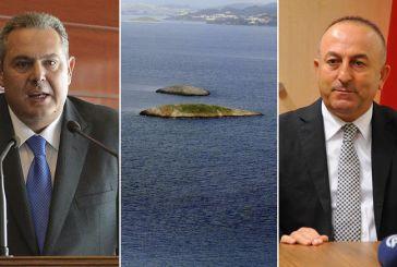 «Πόλεμος» δηλώσεων Αθήνας-Αγκυρας με φόντο τα Ιμια