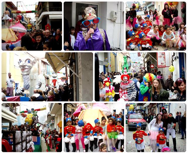 Εικόνες από την παρέλαση του 10ου Μυτικιώτικου Καρναβαλιού