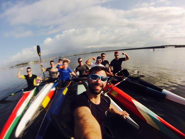 Στη Λιμνοθάλασσα Μεσολογγίου-Αιτωλικού η Ουγγρική ομάδα καγιάκ της Φερεντσβάρος