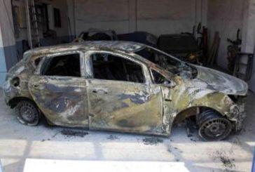 Παρανάλωμα του πυρός στο Αιτωλικό όχημα που κλάπηκε στο Μεσολόγγι