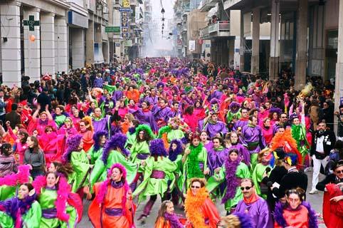 Live:η μεγάλη παρέλαση του Πατρινού Καρναβαλιού