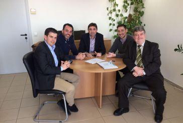 Συνάντηση με Καρπέτα είχε αντιπροσωπεία του Συνδέσμου Αιτωλοακαρνάνων Επιχειρηματιών