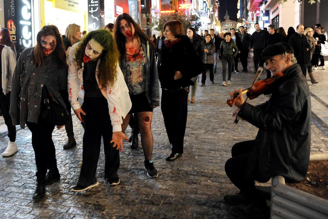 zombie syntagma