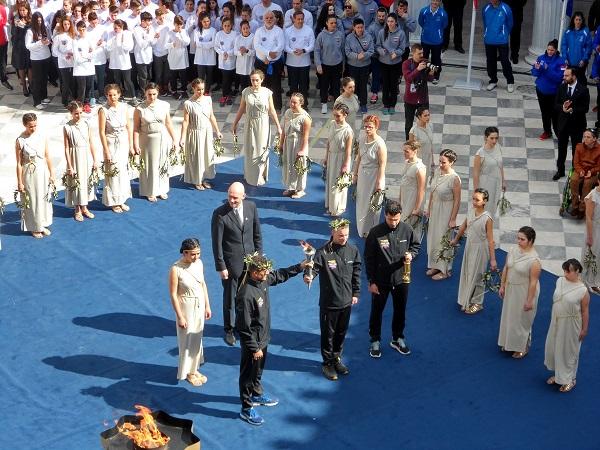 Η Περιφέρεια Δυτικής Ελλάδας στην Αφή της Φλόγας των Special Olympics