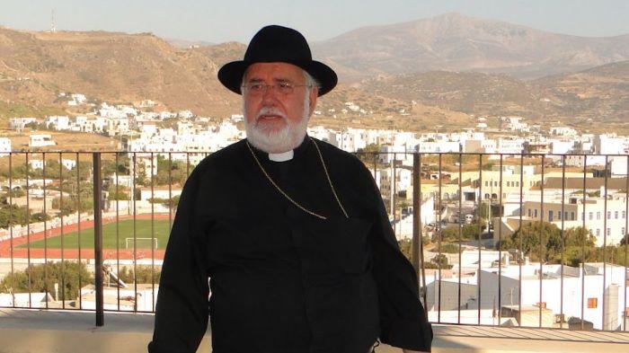 Ο Καθολικός Αρχιεπίσκοπο Νάξου Νικόλαος