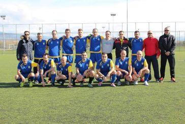 Προελαύνει η ομάδα ποδοσφαίρου των αστυνομικών της Ακαρνανίας