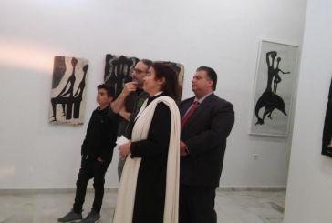 Η Υπουργός Πολιτισμού στο Κέντρο Χαρακτικών Τεχνών Μουσείο Βάσως Κατράκη στο Αιτωλικό